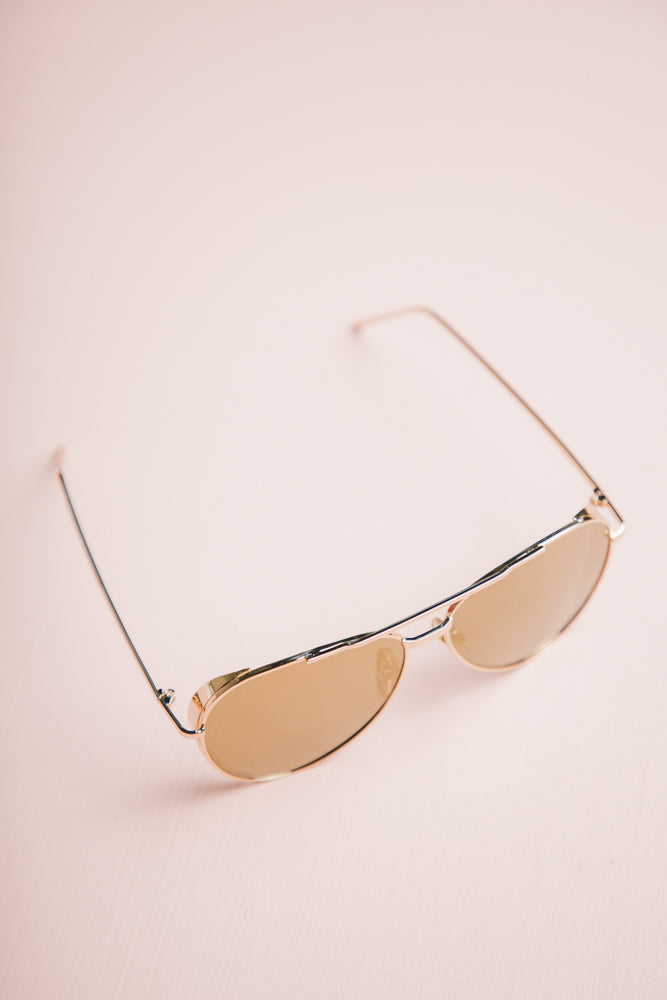 gold sunglasses bohme