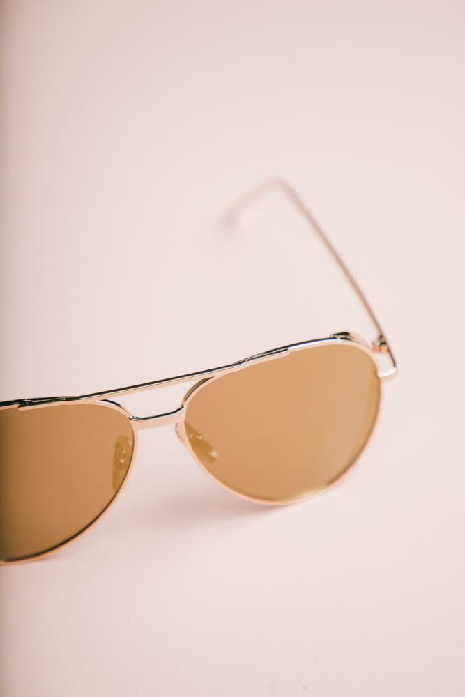 See The Sun Aviators in Gold bohme