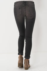 Flying Monkey Soft Distressed Skinny Jeans