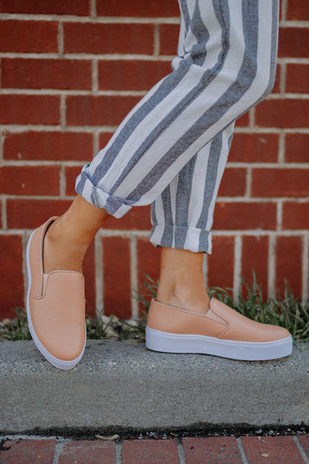 Final Sale - Step Right In Platform Sneakers - Bohme