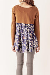Mustard Floral Long Sleeve
