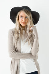 Floral Lace Wrap Hat