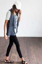 Street Or Chic? Cargo Wrap Vest