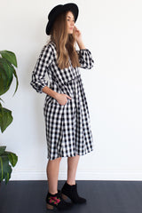 Ballpark Swing Dress