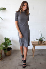 Log Off Knit Midi Dress