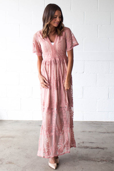 Caribbean Wedding Maxi Dress
