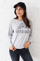 Outsider Graphic Terry Sweater