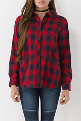 Pocket Plaid Flannel