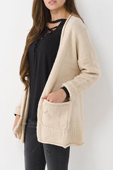 Soft Open cardigan