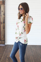 The Antique Rose Top