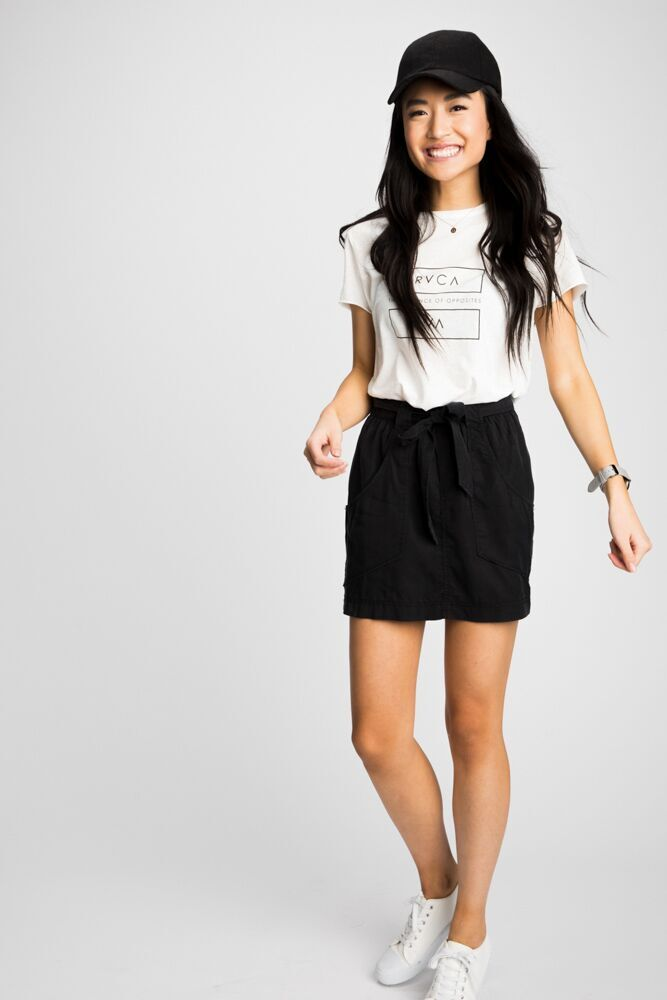 Good Sport Tie Waist Skirt