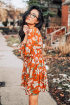 The Rayna Floral Print Tunic Dress