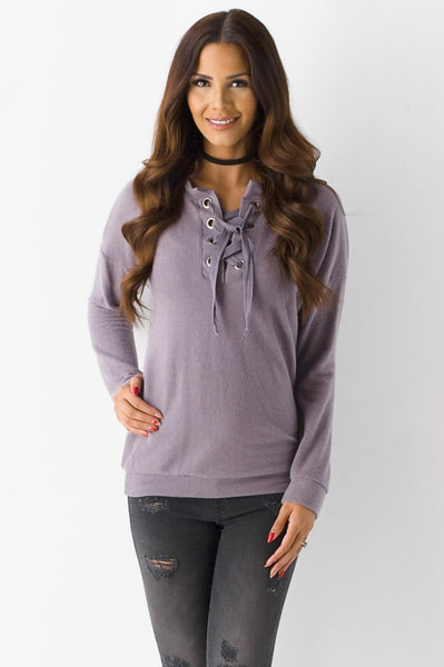 The Purple Allium Sweatshirt