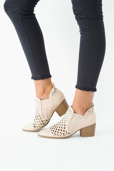 The Sand Stone Peaks Bootie