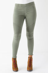 The Raw Engine Moto Jeggings