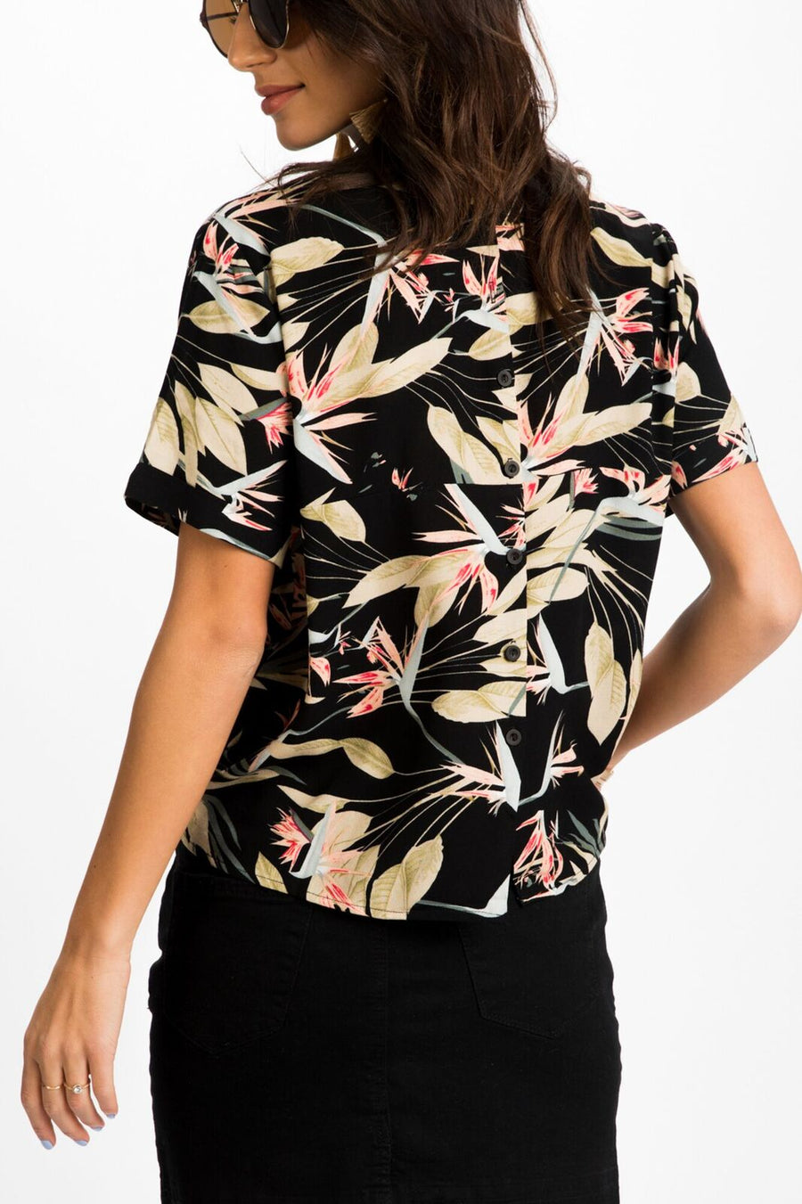 Birds of Paradise Knotted Top - Bohme