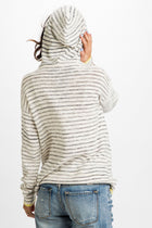 Walks Along the Sand Striped Pullover