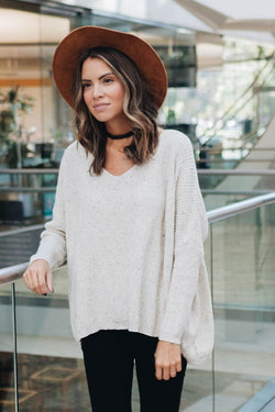 Any Occasion Dolman Sleeve Sweater