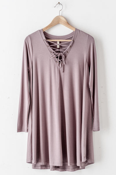 Long Sleeve Tiered Dress