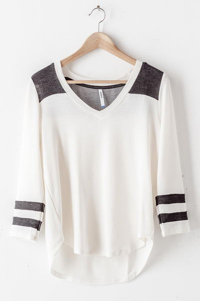 Knit Rugby Top