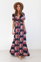 The Liya Floral Print Maxi-FINAL SALE