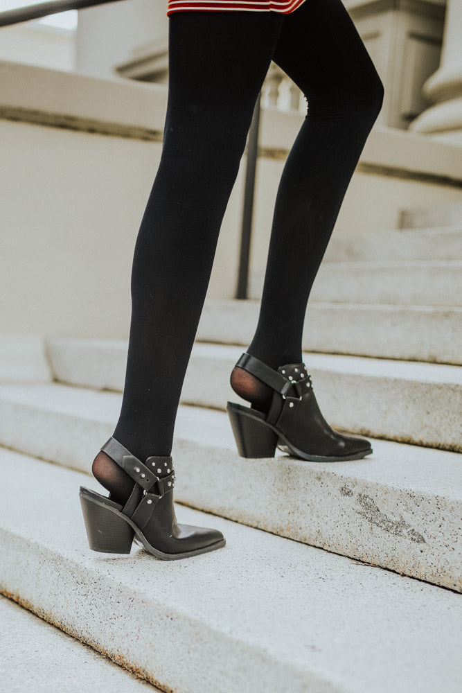 Zooey Studded Booties - Bohme