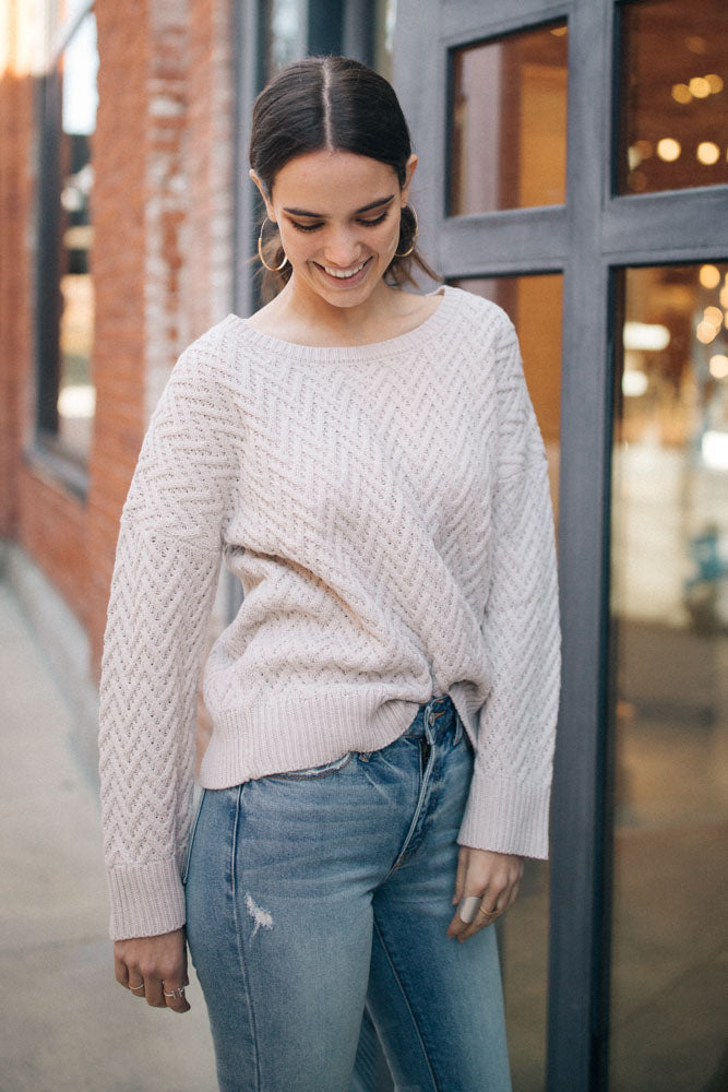 Devold Chevron Knit Sweater - Bohme