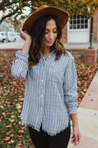 Need to Know Basis Striped Top