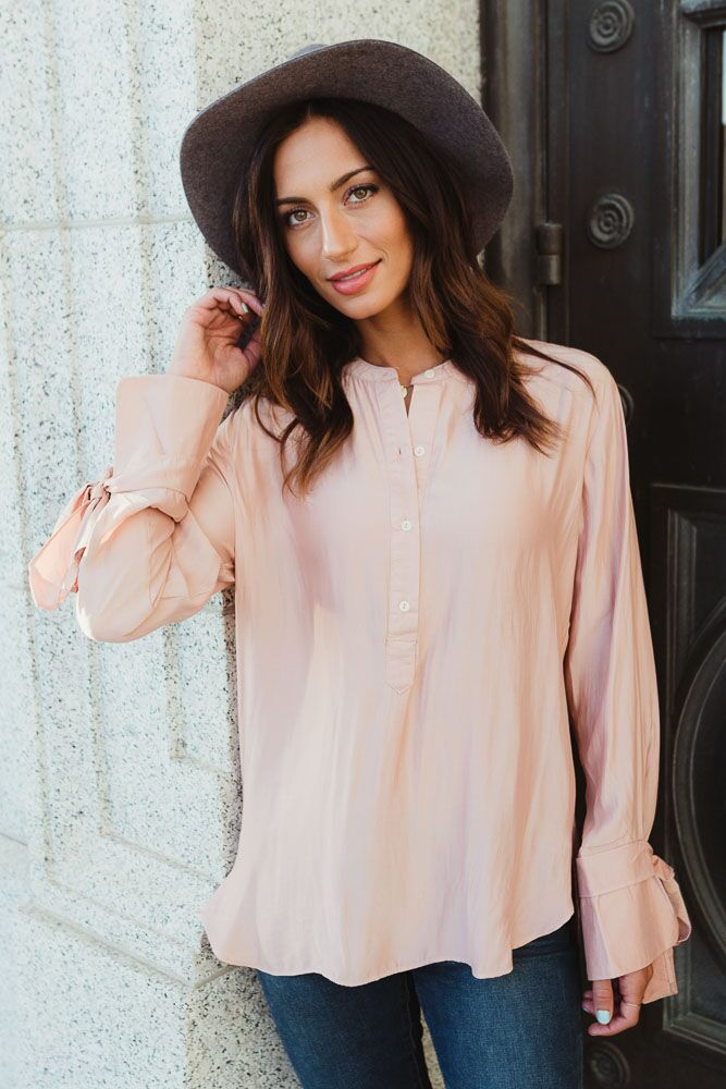Softer Side Tie Sleeve Top