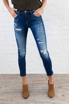 Flying Monkey Jeans Distressed About Nothing Skinny
