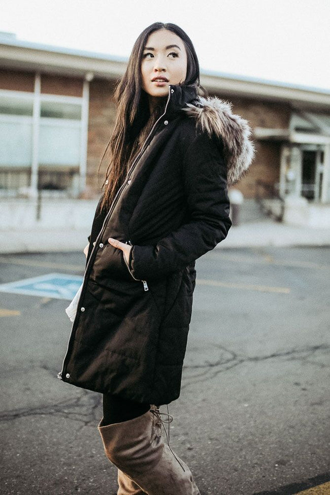 Into the Wild Fur Lined Coat