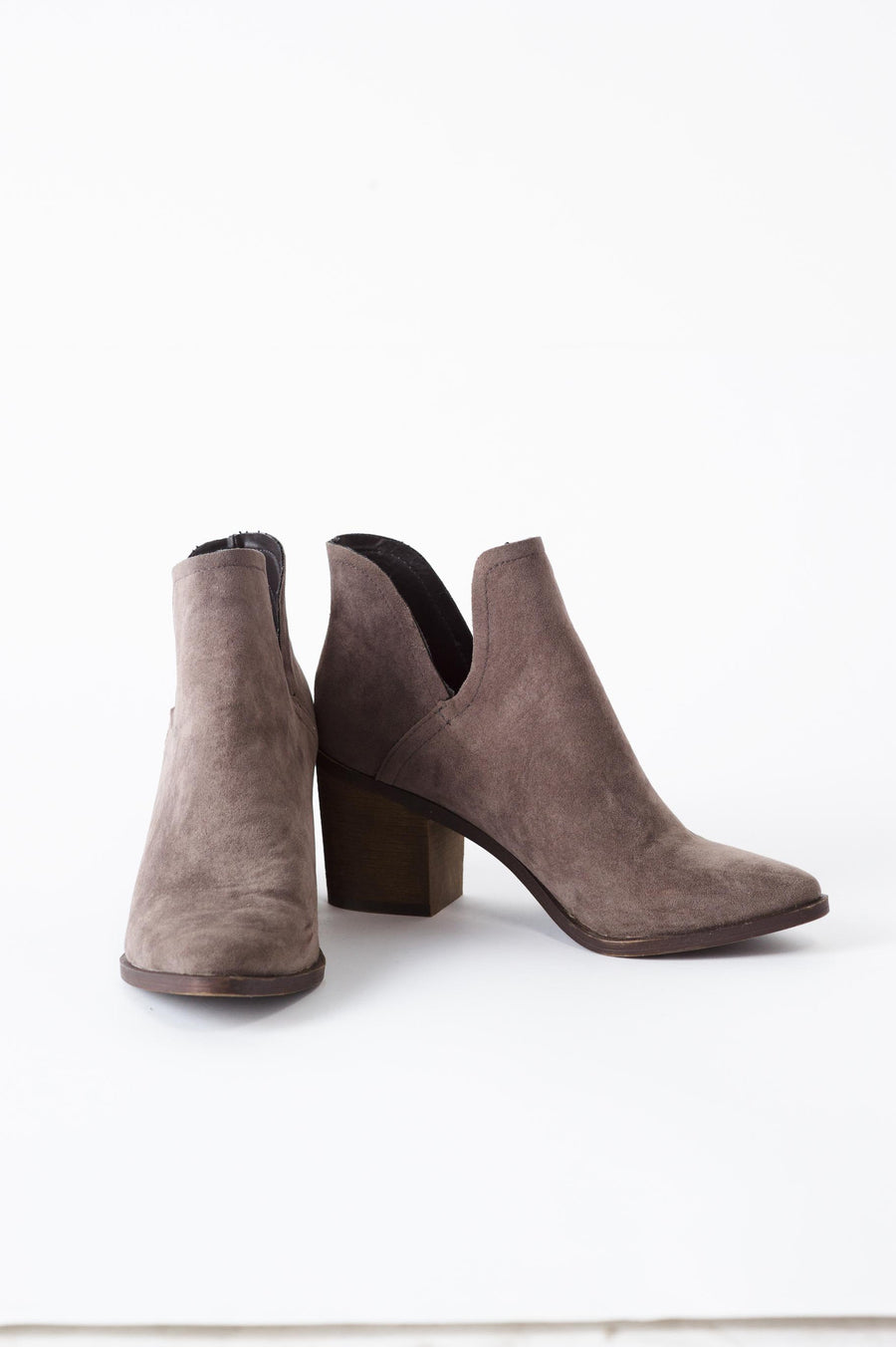 Indi Curve Booties FINAL SALE - Bohme