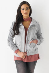 Military Pocket Zip Jacket