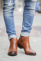 Lucky Brand Zip To It Booties - Final Sale