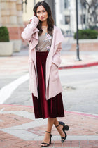 Love Triangle Open Cardigan