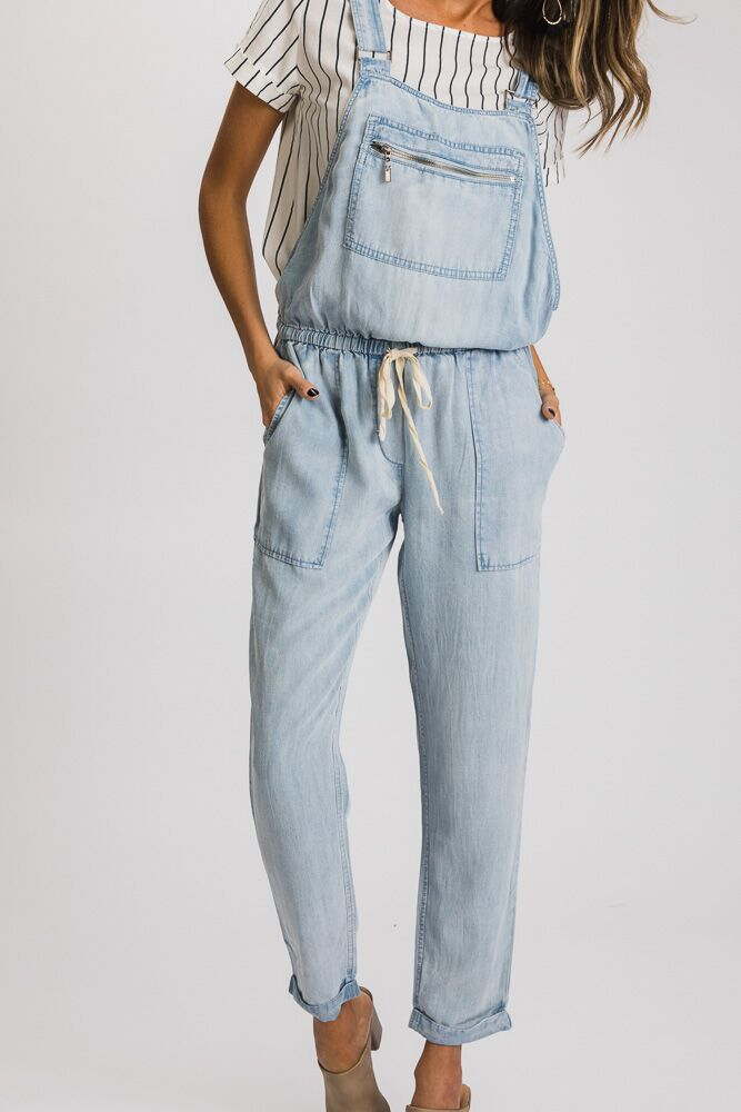 Over it Chambray Overalls