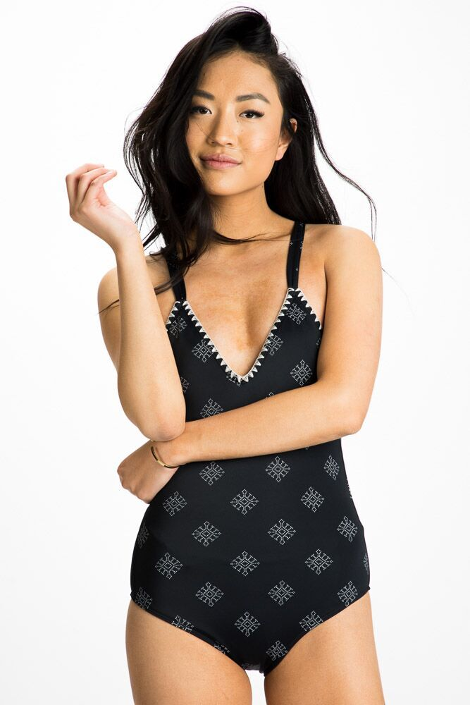 Roxy To the Sea One-Piece Swimsuit - Bohme