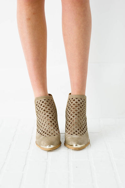 Token Cut-Out Booties