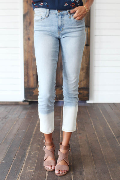 Cloud Surfing Skinny Jean