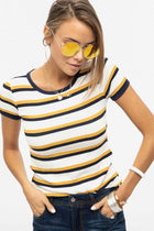Right Round Yellow Sunglasses - Bohme