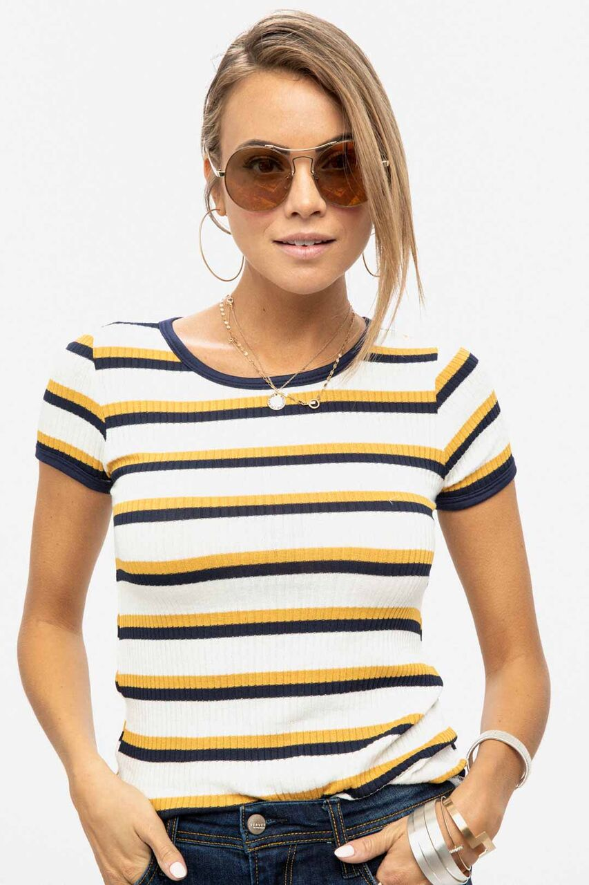 Hey Honey Striped T-Shirt
