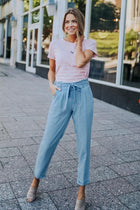 Easy Chambray Bottoms