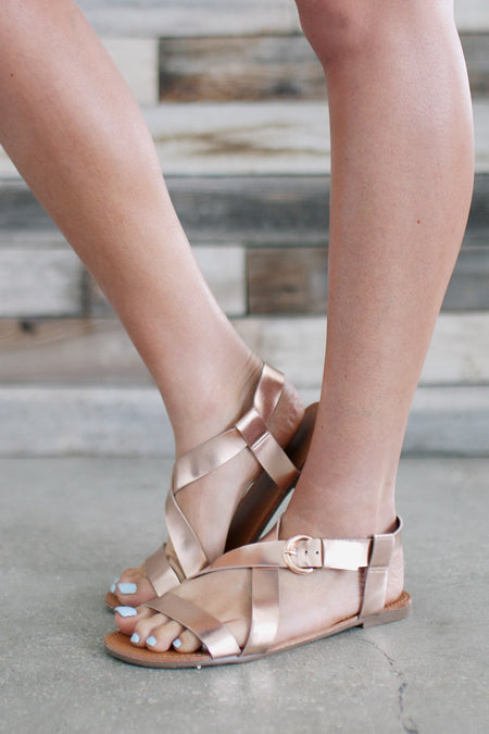 The Spartan Buckle Sandal-FINAL SALE - Bohme