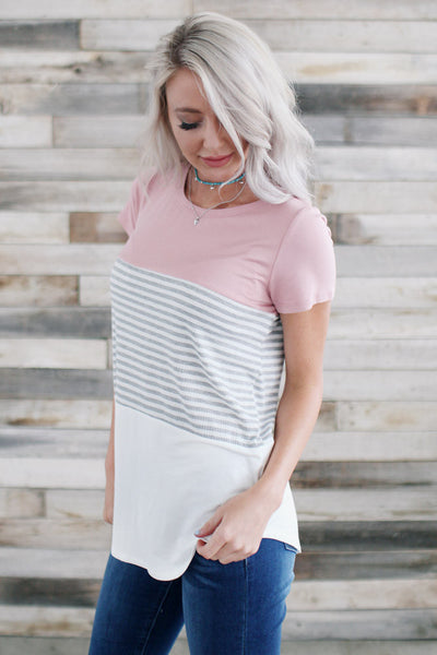 The Blocked In Tee