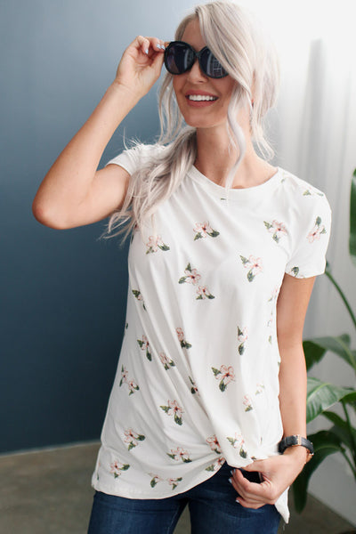 My Little Hibiscus Top