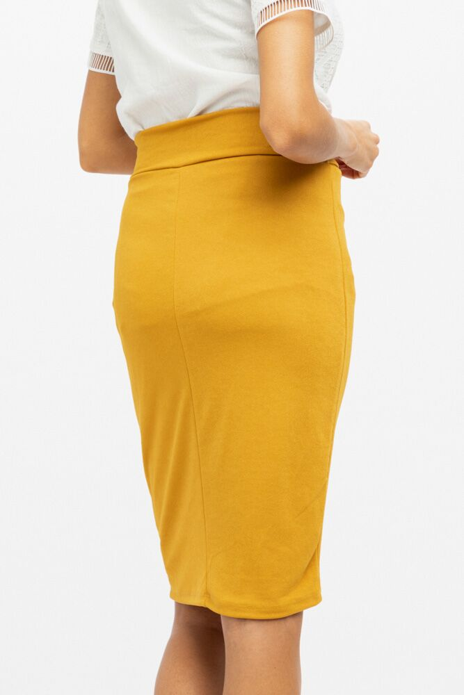 Amour Fou Skirt in Mustard - Bohme