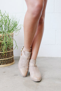 Beach Of Beige Booties