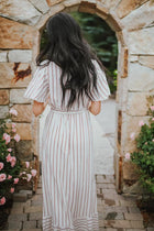 Belle Stripe Maxi Dress