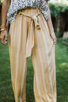 Dusk 'Till Dawn Wide Leg Pants in Mustard