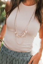 Tally Layered Beaded Necklace - Bohme